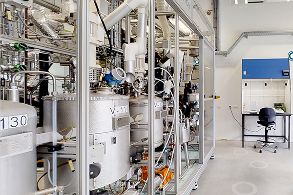 3D Animatie van TNO's Biorizon Biomass to Bio-Aromatics Lab op de Green Chemistry Campus