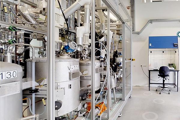 3D Animatie van TNO's Biorizon Biomass to Bio-Aromatics Lab op de Green Chemistry Campus